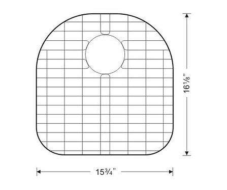 Sink Bottom Grids GWW1718 (G103L)