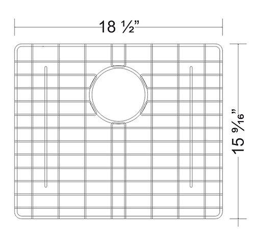 Sink Bottom Grids GNC1916