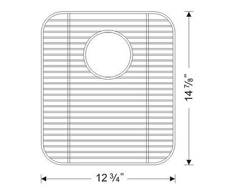Sink Bottom Grids GWS1315LG