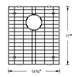 Sink Bottom Grids GCS1517