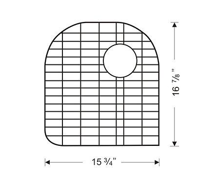 Sink Bottom Grids GTW1617
