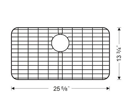 Sink Bottom Grids GWW2614