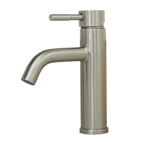 Alonza 8-inch All Stainless Steel Lead-Free Single-Handle Vanity Faucet