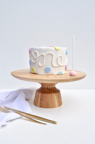 Birthday Polka Dot (available in gold as well)