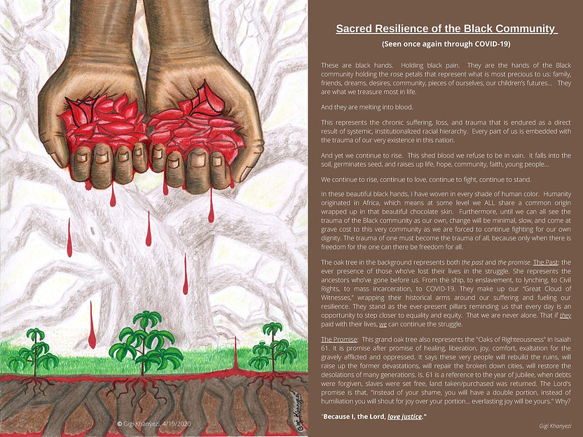 Dark Brown - Sacred Resilience of the Bl