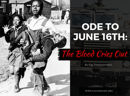 Ode to June 16th:  The Blood Cries Out