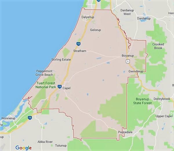 Capel Shire Map.png