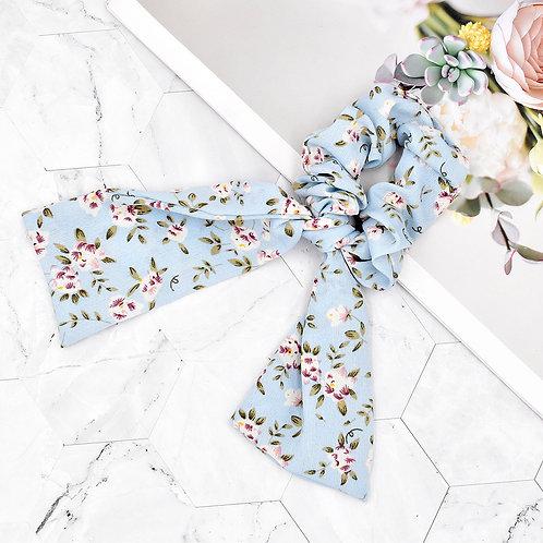 Blua Floral Scrunchie