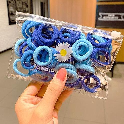 Blue Towel Ring Bobbles 50pk