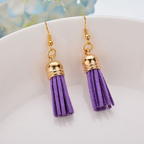 Bella Tassel Purple