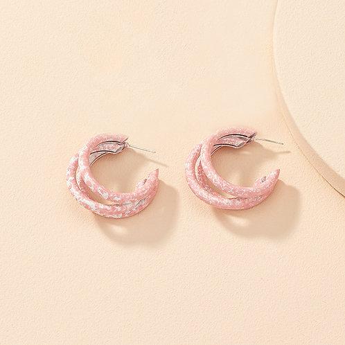Pastel Hoop Pink
