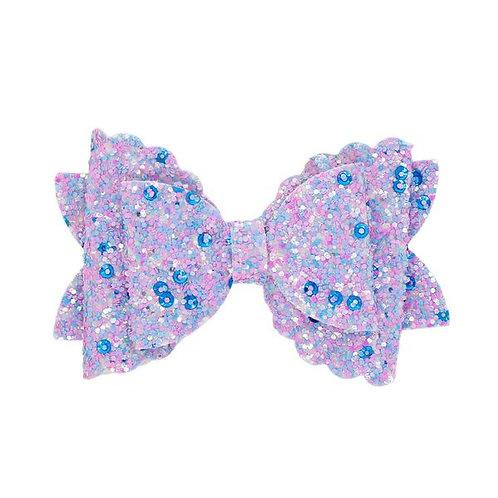 Light Purple Glitter Bow