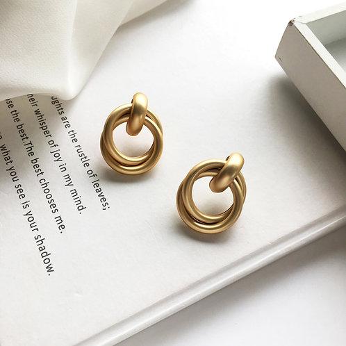 Golden Freya Earring