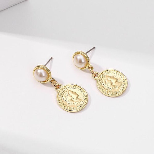 Gilly Coin Earring