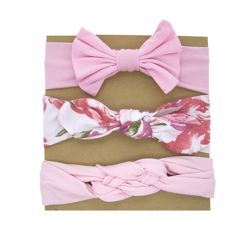 Hairband Pack Pink