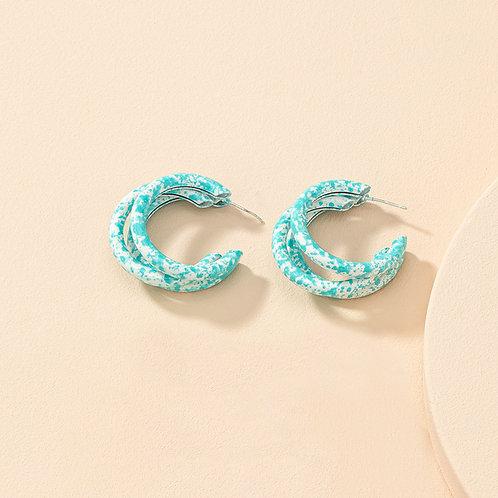 Pastel Hoop Blue