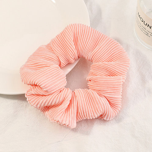 Candy Pink Scrunchie
