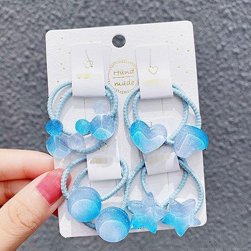 Blue Bobbles x4 Designs