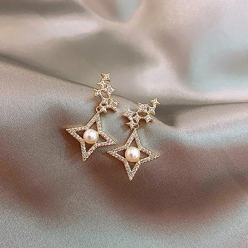 Freya Star Earring