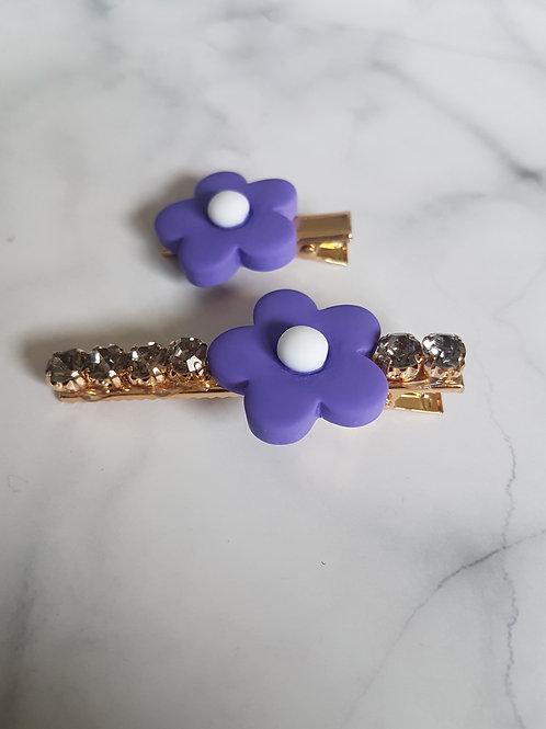 Bella Clips Purple