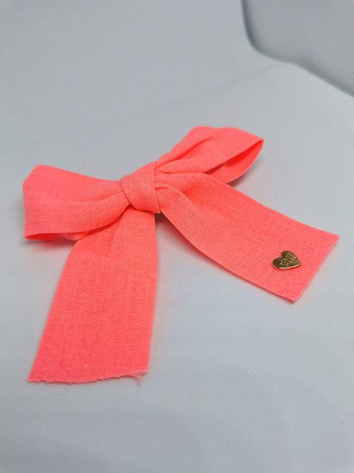 Florescent Pink Clip