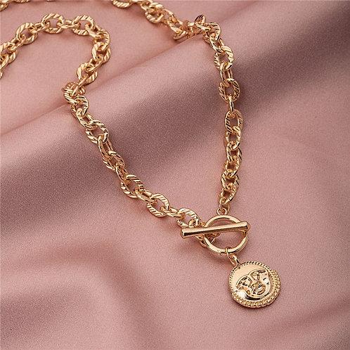 Harlie Gold Necklace