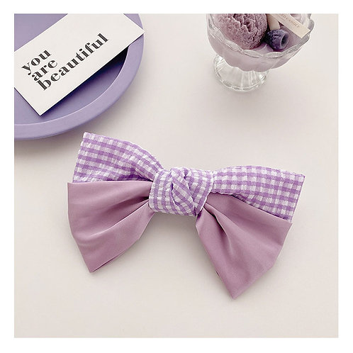 Lilac Short Bow Large
