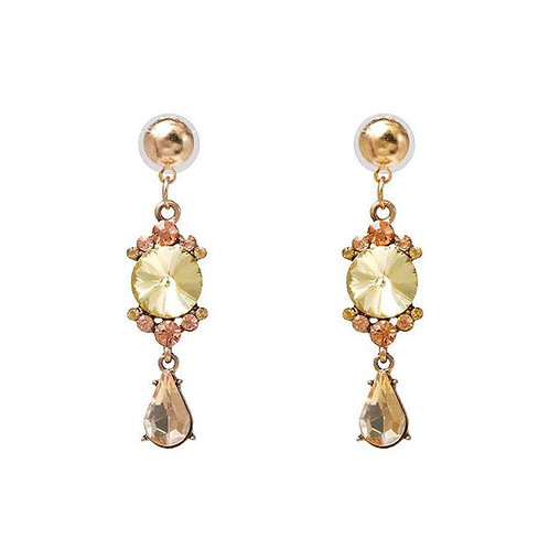 Donna Drop Crystal Earring