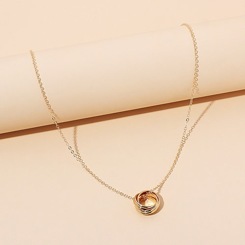 Lorna Ring Necklace Gold