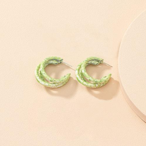 Pastel Hoop Green