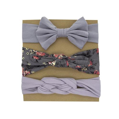 Hairband Pack Grey