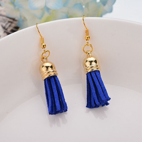 Bella Tassel Blue