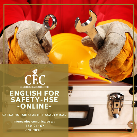 English for Safety - HSE ONLINE