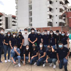 La promo HEIFETZ 2021 realizaron un acto de caridad con los pacientes del Hospital Oncológico