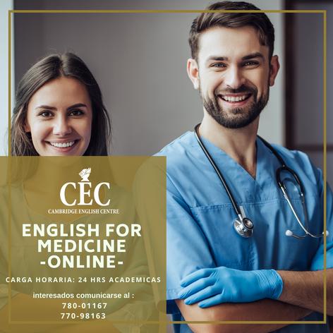 English for Medicine ONLINE