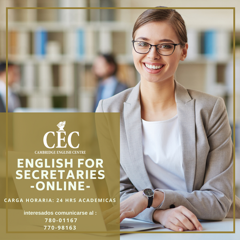 English for Secretaries ONLINE