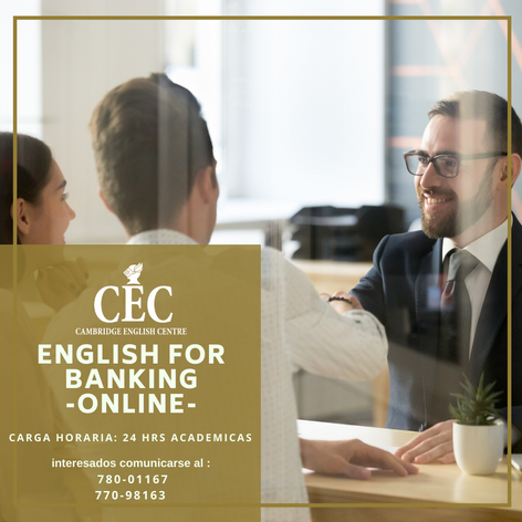 English for Banking ONLINE