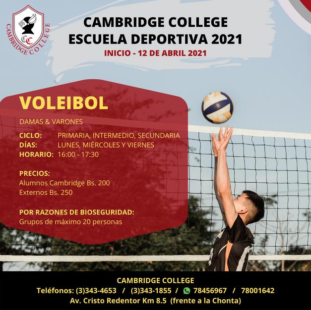 Voleibol - Escuela Deportiva Cambridge