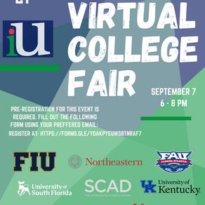 Virtual College Fair from the International University of Santa Cruz dedicated to Cambridge College