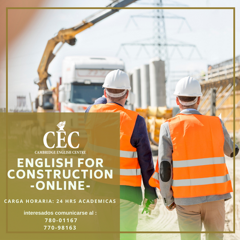 English for Construction ONLINE