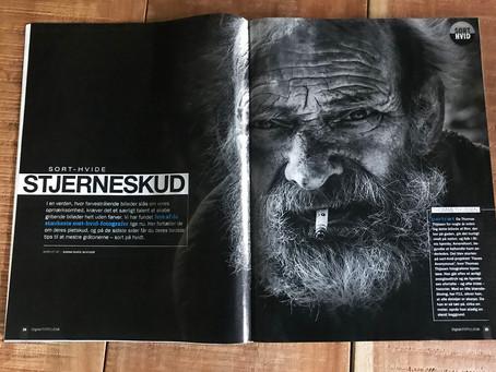 """""""Digital Foto"""" geeft Hulde aan Thomas Thijssen voor Zwart Wit fotografie, met publicatie i"""