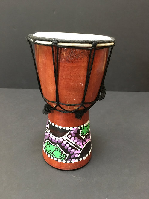 African Small Djembe, 4""