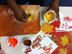 15 - Printmaking with leaves