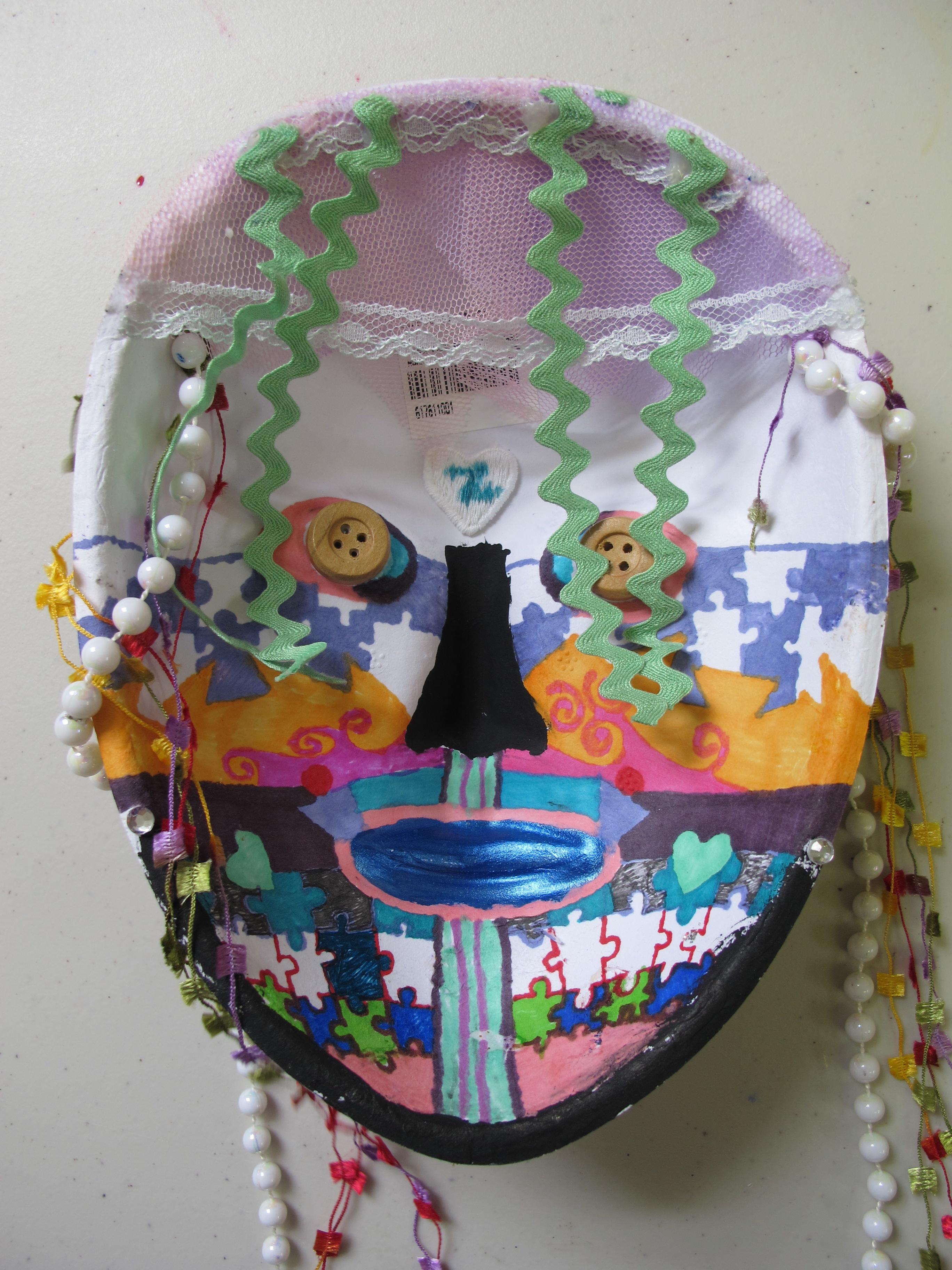 Inside of Mask