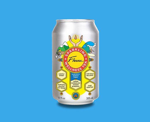 Pack of 12 - Fleura Sparkling Wellness Tea