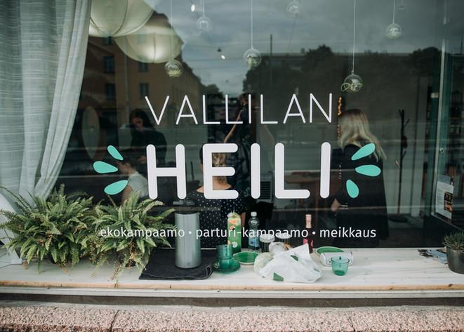 Vallilan Heili kampaamo hääkuvaus yrityskuvaus Helsinki