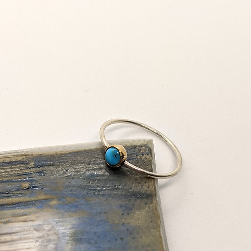 Teeny Turquoise Ring