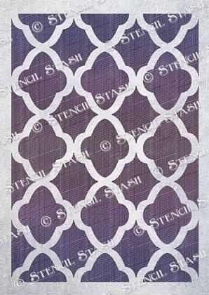 Eastern Lattice stencil
