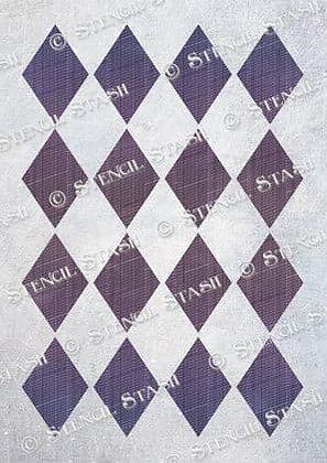 Harlequin pattern