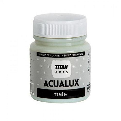Ματ βερνίκι για προστατευτικό φινίρισμα Τitan Acualux 100ml